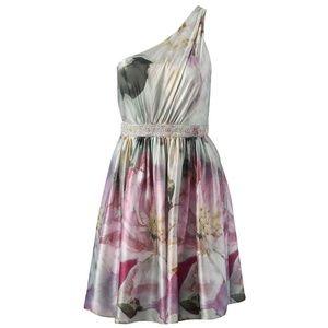 BNWT Forever New Livie One Shoulder Dress size 4